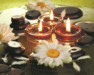 свечи камни