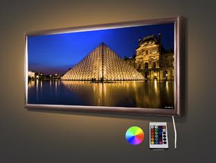 Пирамида Лувра 70,5* 32,5 см