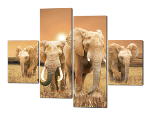 Слоны 126* 93 см