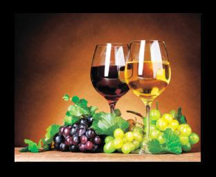 два бокала с вином