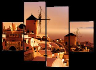 Мельницы Греция 126* 93 см