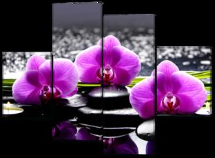Три орхидеи 126* 93 см