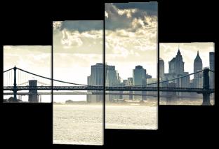 Мост город 166* 114 см
