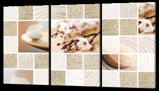 Цветы песок и камни