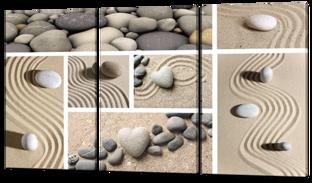 Песок фен-шуй и камни