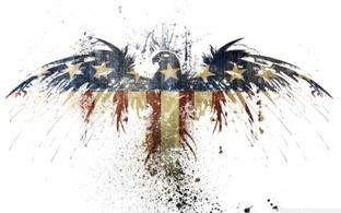 орёл американский флаг
