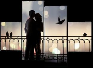Пара влюбленных 126* 93 см