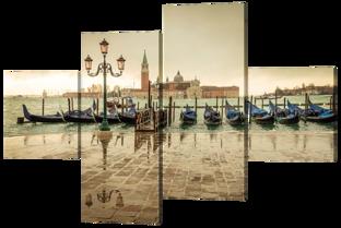 Венеция после дождя 166* 114 см