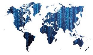 цифровая карта мира