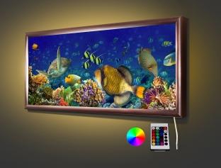 Под водой  70,5* 32,5 см