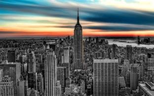 нью-йорк, ночь