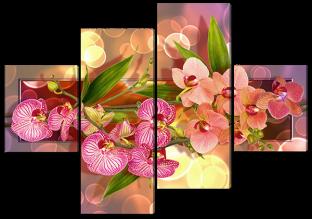 Орхидеи 166* 114 см
