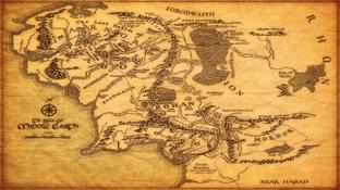Фентези карта