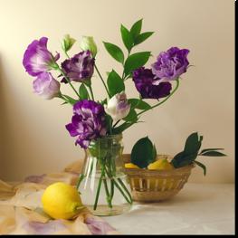Букет с цветами