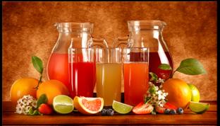 Соки фрукты  70 см* 40 см