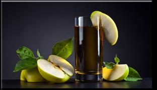 Сок яблочный композиция  70 см* 40 см