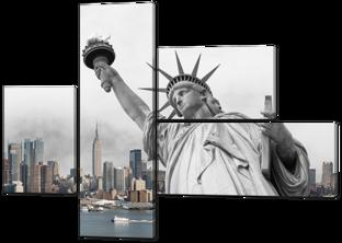 Статуя независимости 131* 96,5 см