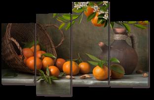 Натюрморд с апельсинами 126* 82,5 см