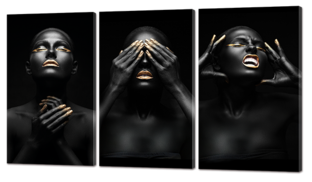 Три эмоции 124* 70 см