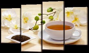 Чай и орхидеи 126* 76,5 см