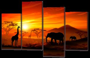 Африканские прерии 126* 82,5 см