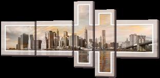 Композиция Вид на город