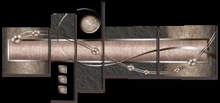 Жемчуг в металле 168* 84 см