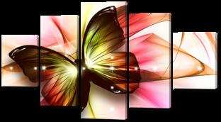 Бабочка 140* 80 см