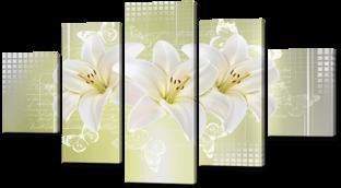 Три лилии 140* 80 см