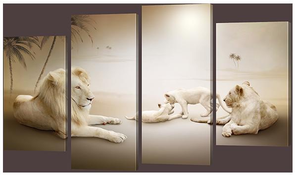 Львиный прайд 126* 76,5 см