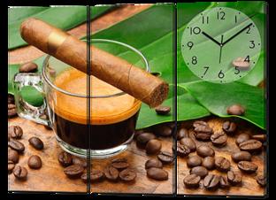 Сигара с кофе