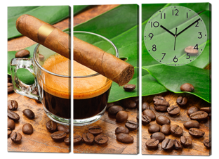 Сигара с кофе 91* 70 см