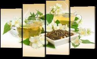 Цветочный чай 126* 76,5 см