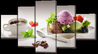 Кофе с мороженым 140* 80 см