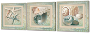 Морские ракушки 193 * 63 см