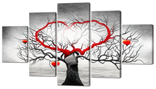 Дерево с сердцем