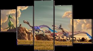 Хороший динозавр 126* 76,5 см