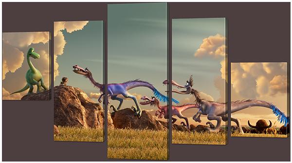 Хороший динозавр 126* 82,5 см