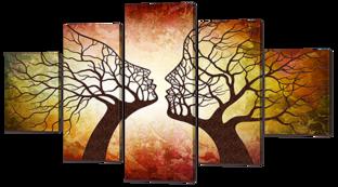 Два дерева 140* 80 см