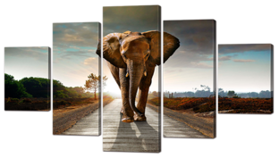 Слон 140* 80 см