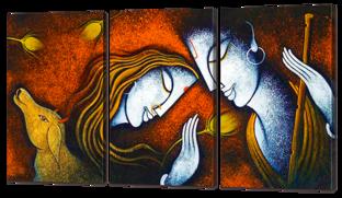 Двое Радха и Кришна