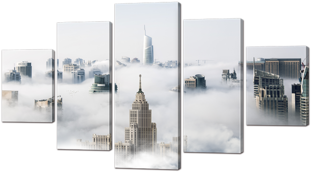 Туман и небоскрёбы