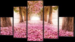 Цветение сакуры 140* 80 см