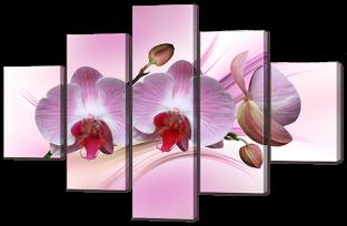 Ветка орхидеи 108* 70 см