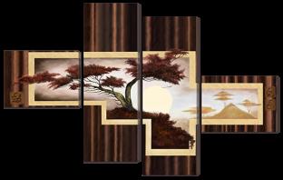 Абстракция деревья 148* 93 см