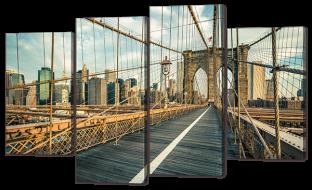 Городской пешеходный мост