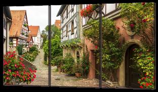 Улица европейского городка