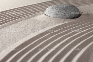 дзен медитация сад