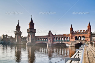 Обербаумбрюкке мост в Берлине