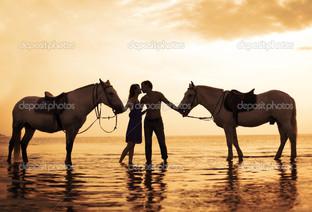 любовь люди и лошади